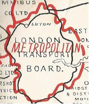 Metropolitan Area Map