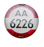 AA 6226 Early issue badge c1936