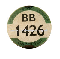 BB 1426 Early issue badge. One of the first ones issued in 1935.
