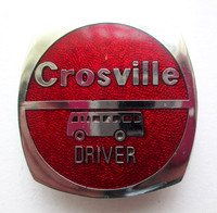 CMS Lapel Badge Driver Red.