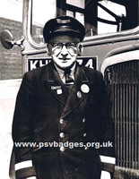 AA 6109 United Automobile Services Driver. Note the 21 year service badge on his right lapel.