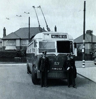Darlington trolleybus crew. Thanks to Kevin Flint for the use of the image.