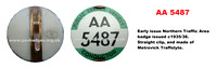AA 5487 with straight fixing pin