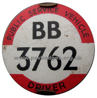 BB 3762 Early issue badges 1935/6