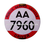 AA 7960 Early issue badge c1936